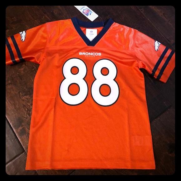 NWT Demaryius Thomas jersey kid 6 7 Denver Broncos 1da62c14f